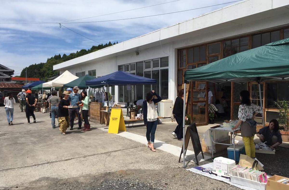 臼杵市野津町で開催の Funnel Culture Market に行ってきました!